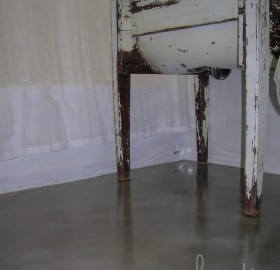 Concrete Floor Microtopping