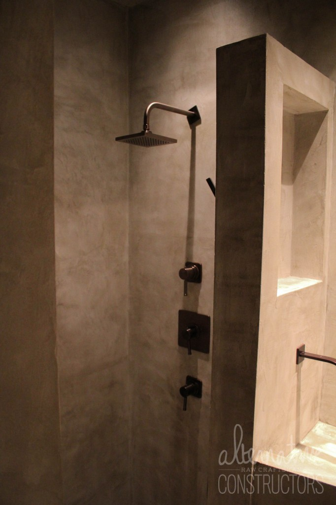 Bathroom Walls And Shower Microcement Alternative