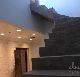 Alternative Constructors Concrete Micro-Topping Stairwell
