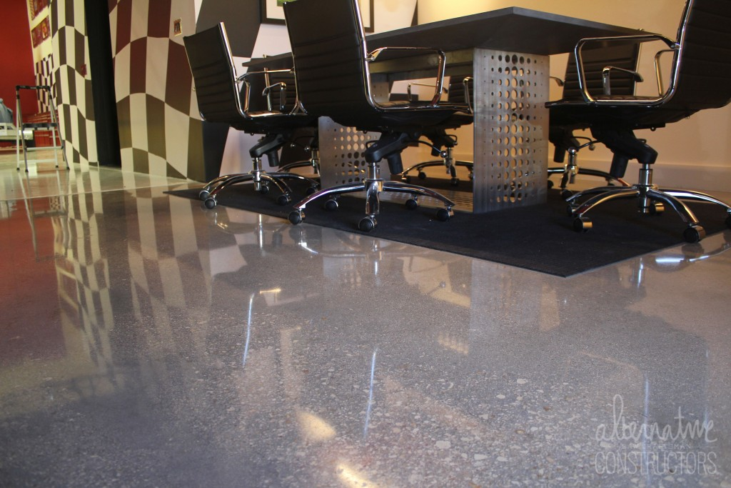 Polished Concrete Floor Alternative Constructors