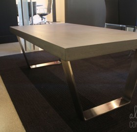 Custom Concrete Table