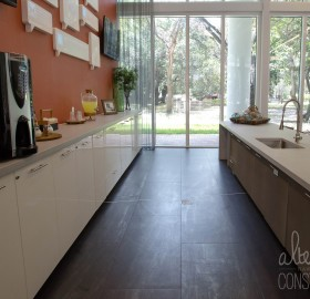 interior concrete countertop