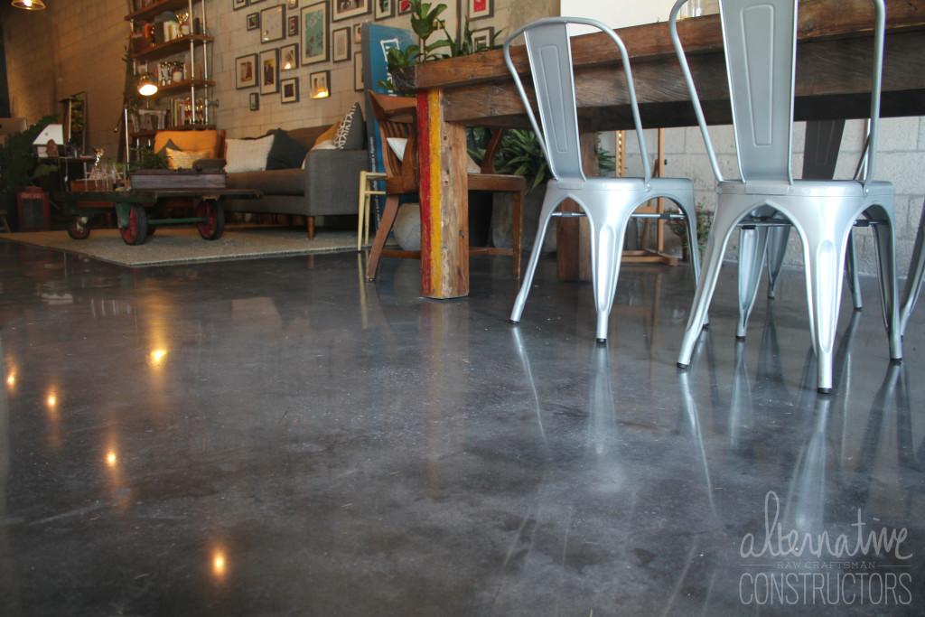 Polished Concrete Floor Alternative