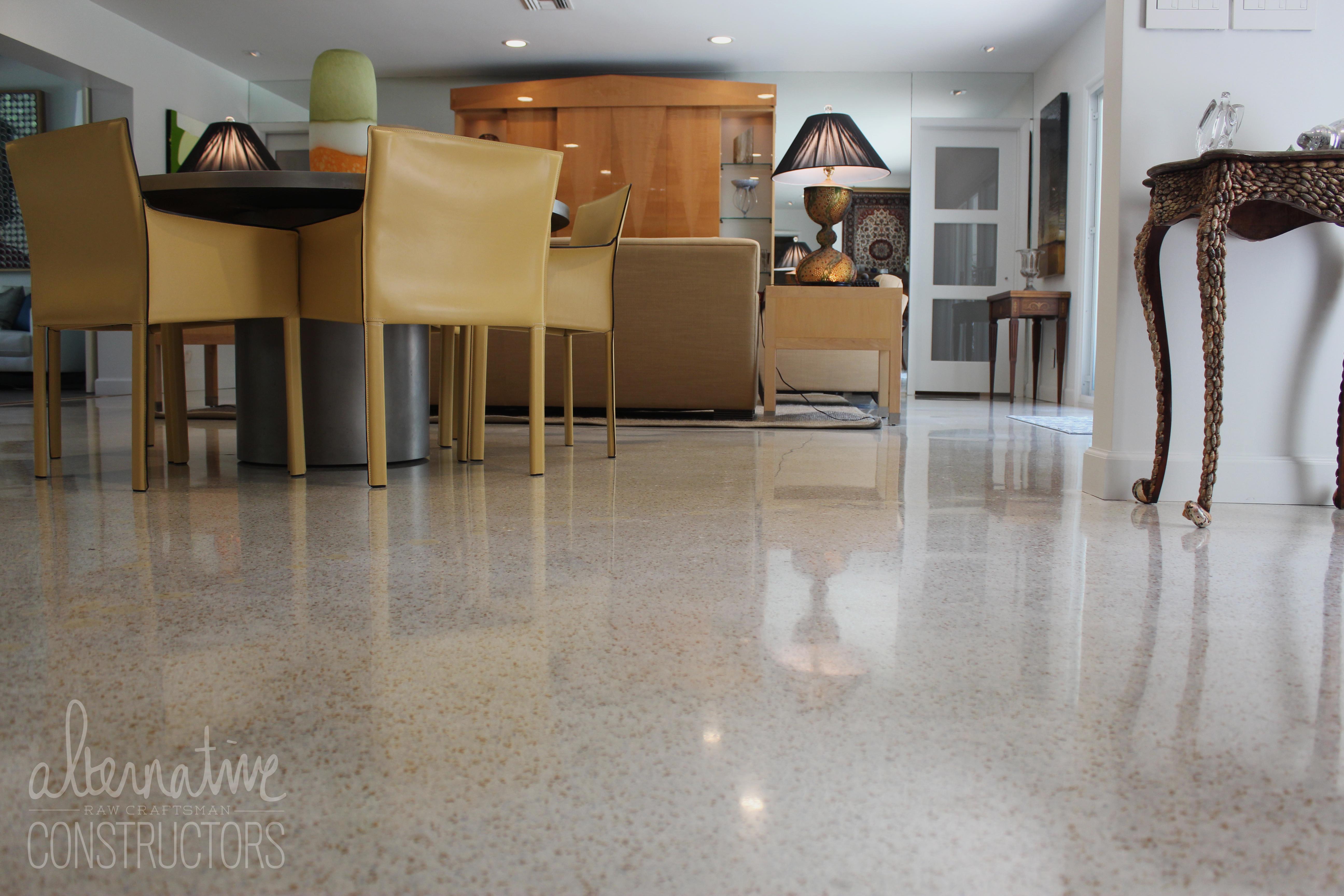 Terrazzo Floor Refinishing Ne 25th St Private Residence