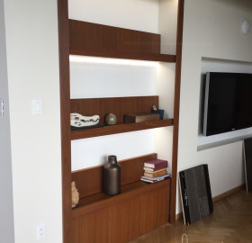 Custom Made Shelving Unit