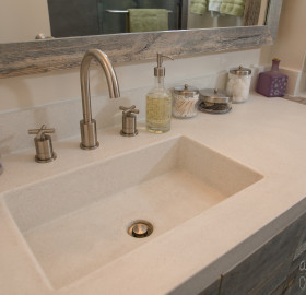 Concrete Sink and Vanity
