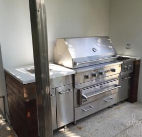 BBQ Concrete Countertop