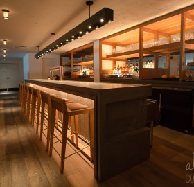 Concrete Bar Countertop