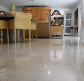Terrazzo Floor Refinish