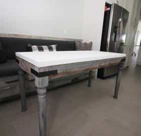 Custom Reclaimed Wood Coffee Table